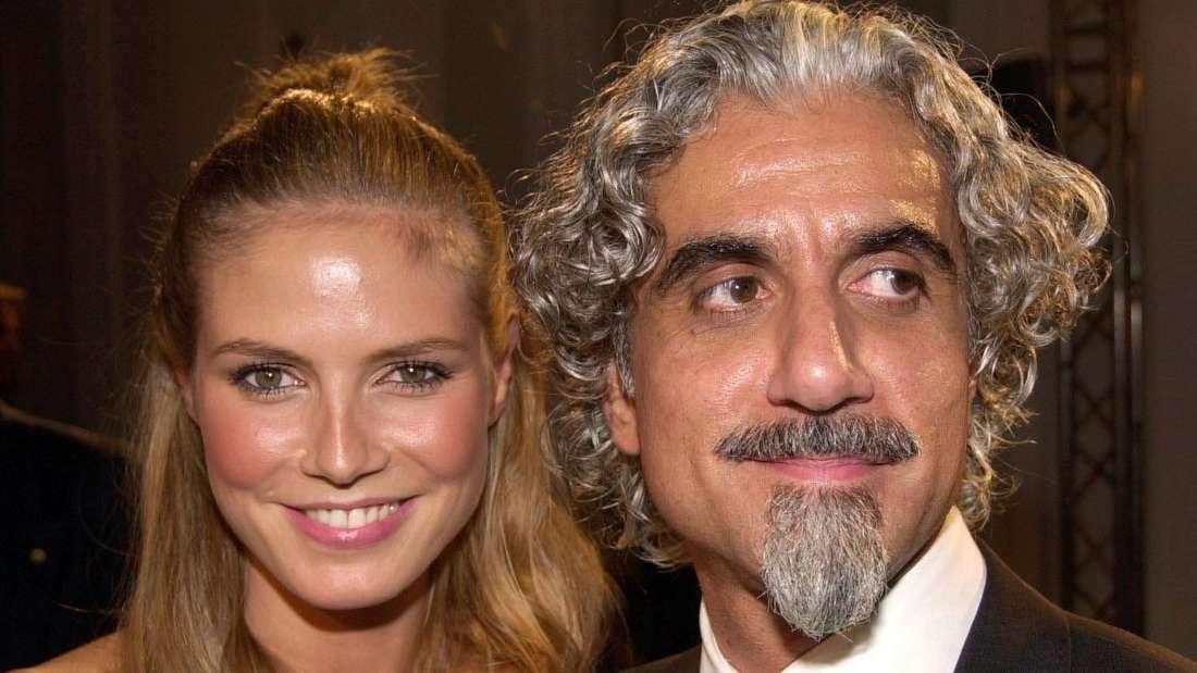 Heidi Klum heiratet 1997 Ric Pipino – 2003 folgt die Scheidung.