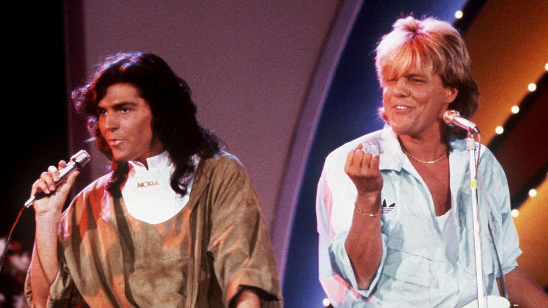 Die 80er haben angerufen, sie wollen Modern Talking zurück. Links Thomas Anders, rechts Dieter Bohlen.