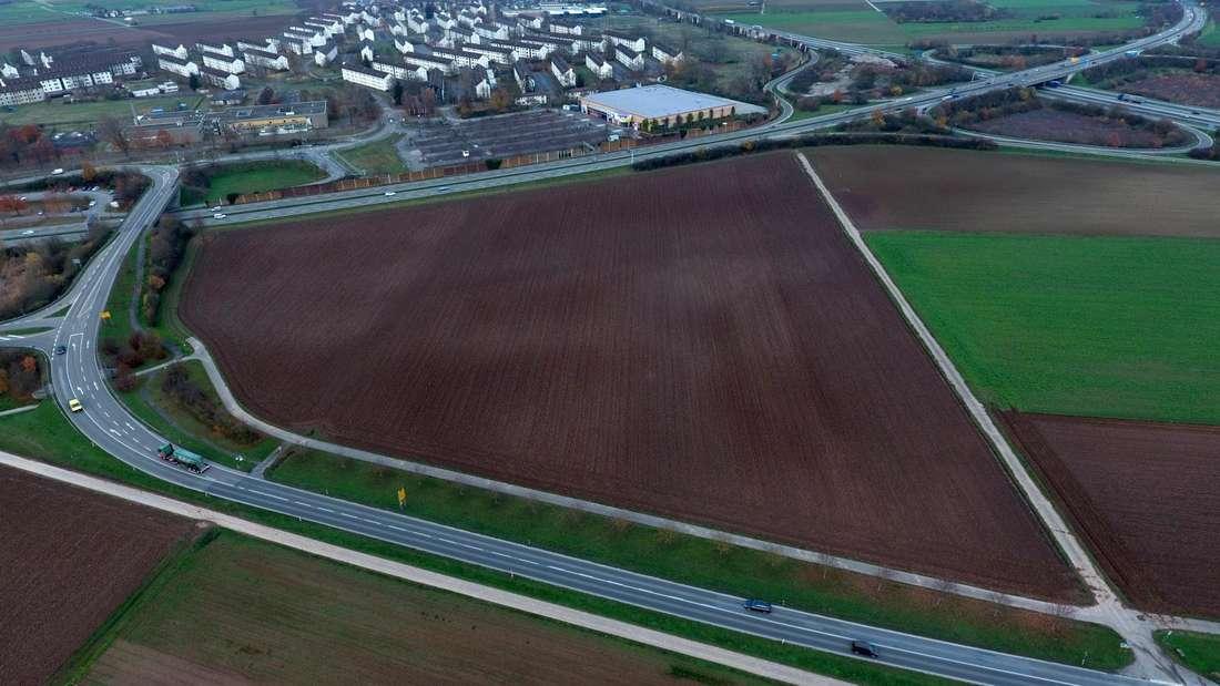 Das Gewann Gäulschlag wird als Standort für das Ankunftszentrum diskutiert.