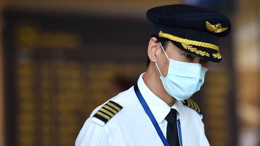 Coronavirus - wie sollten Passagiere in Flugzeugen sich schützen?