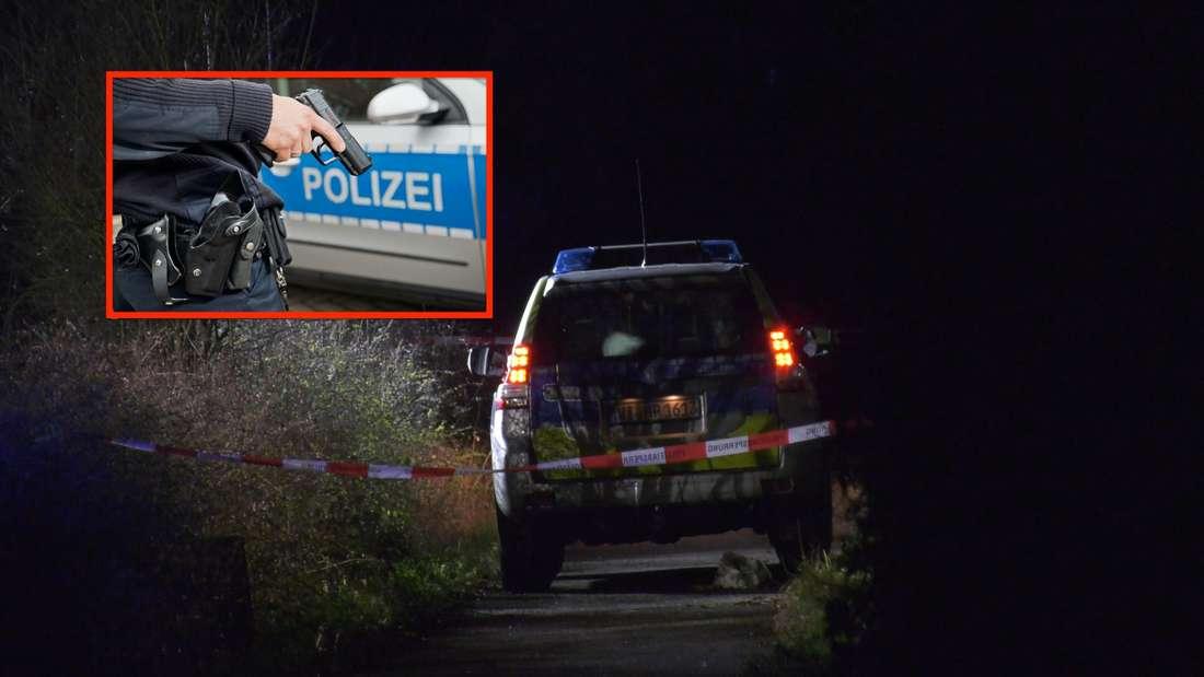 Bei einem Polizeieinsatz in Mannheim müssen die Beamten auf einen Mann schießen.