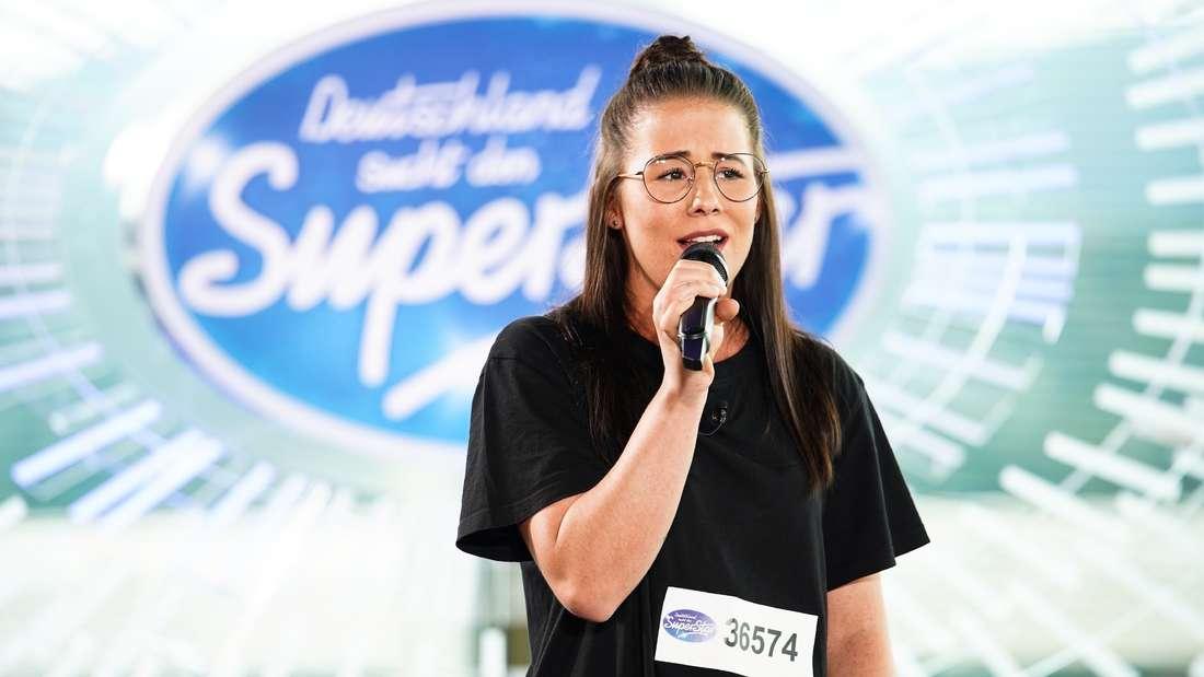 DSDS-Kandidatin Linda Weber