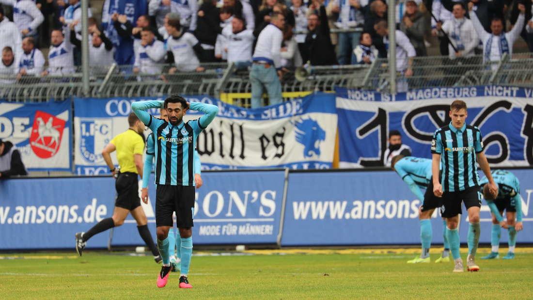 SV Waldhof Mannheim - 1. FC Magdeburg 1:1 (0:0).