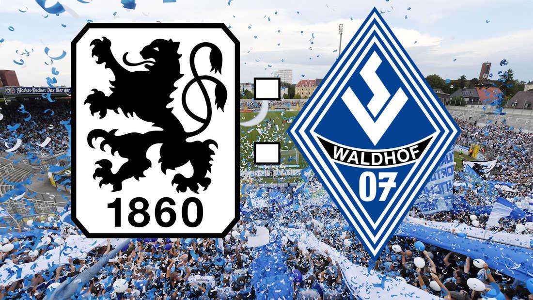 Der TSV 1860 München und der SV Waldhof Mannheim trennen sich 1:1 (0:0).