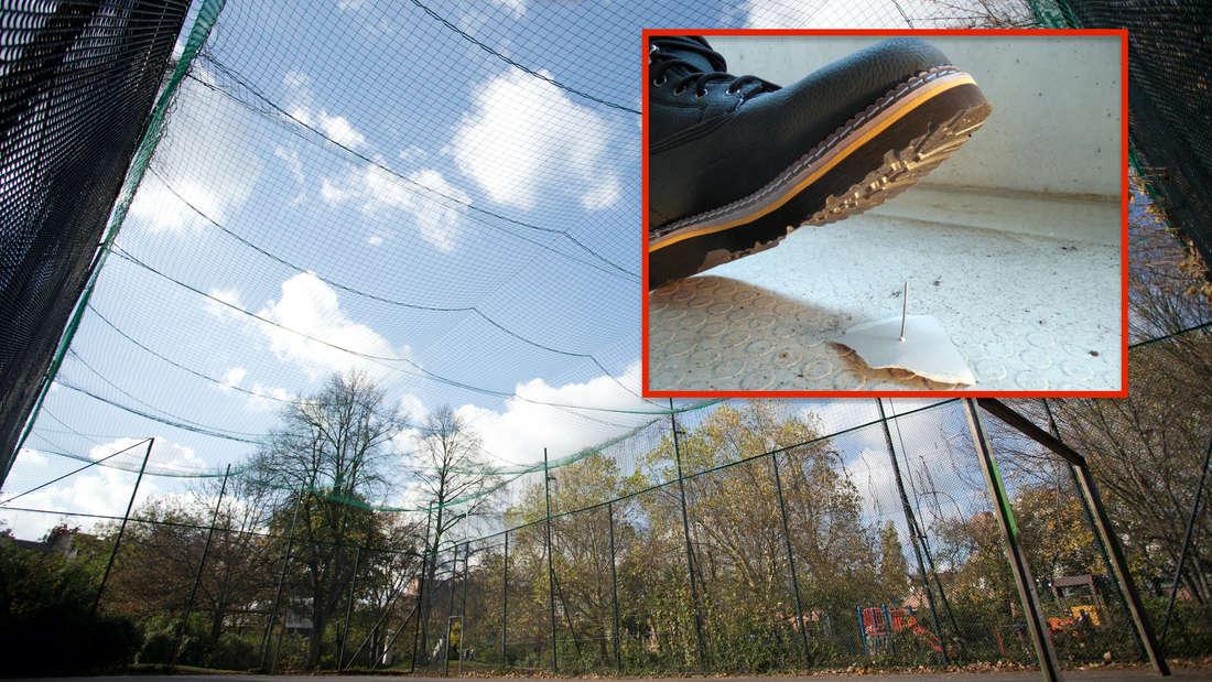 """Schock-Fund an Sportplatz! Unbekannter legt""""Kinderfalle"""" aus (Symbolfoto)"""