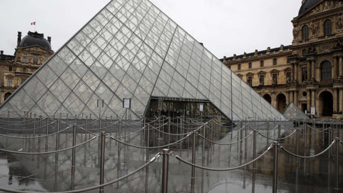Wegen des Coronavirus bleibt der Louvre in Paris vorerst geschlossen.