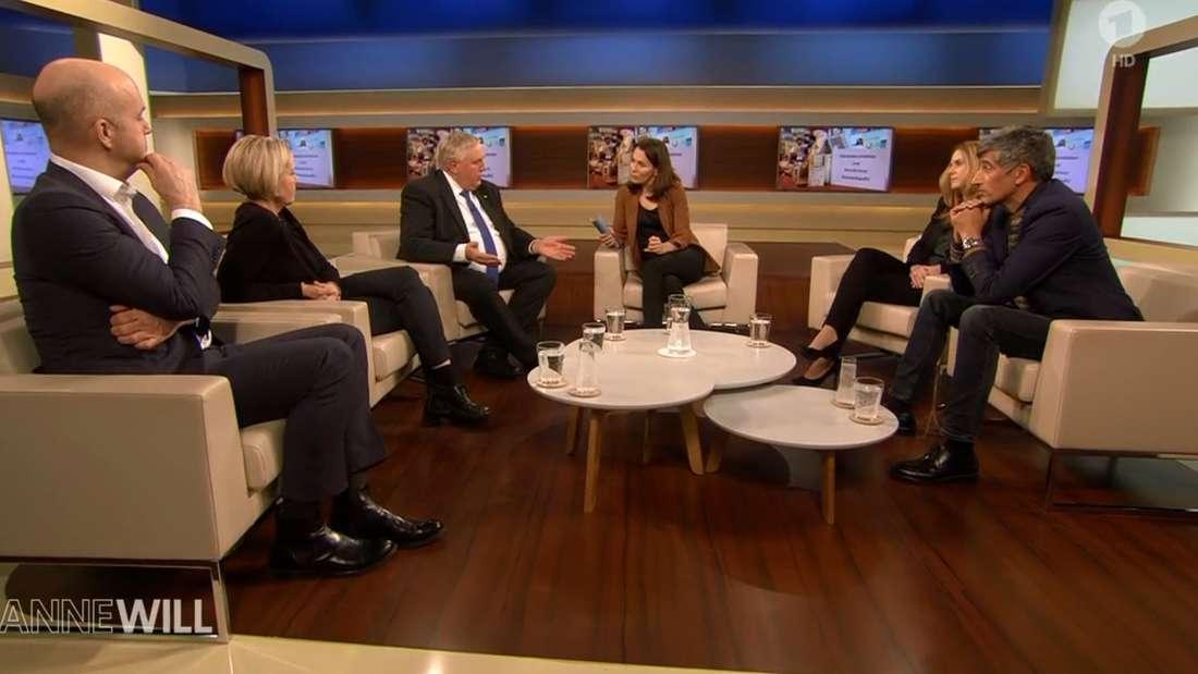 """Coronavirus bei""""Anne Will"""" in der ARD"""