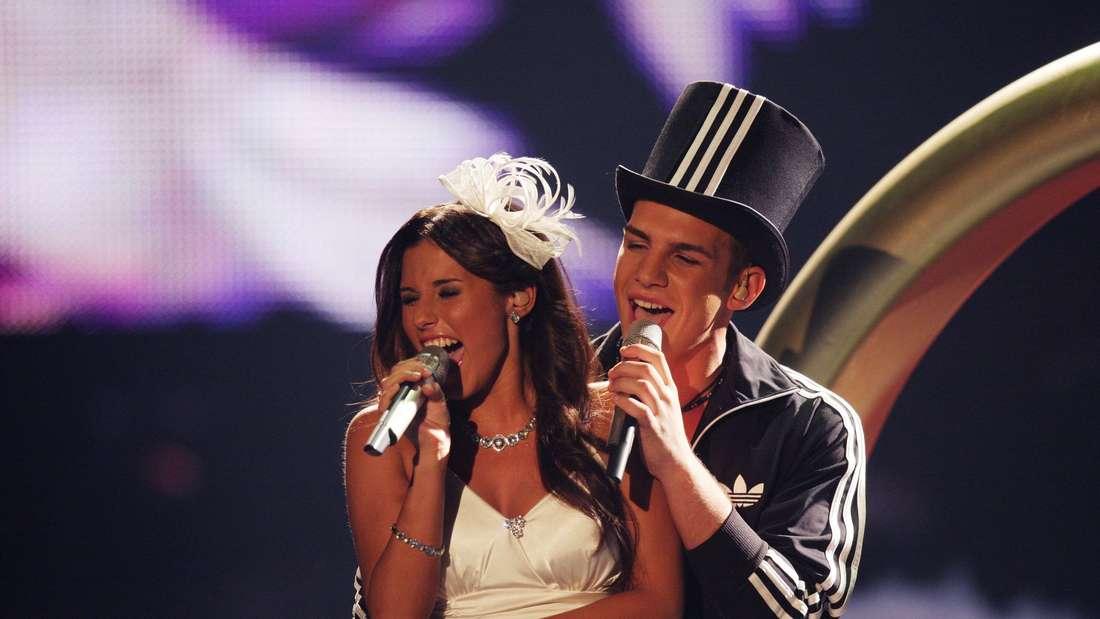 Im DSDS-Finale traten Pietro und Sarah bereits als Brautpaar auf.
