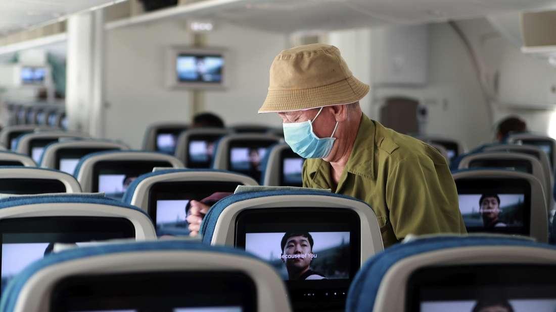 Wie verhalte ich mich in Zeiten von Coronavirus im Flugzeug?