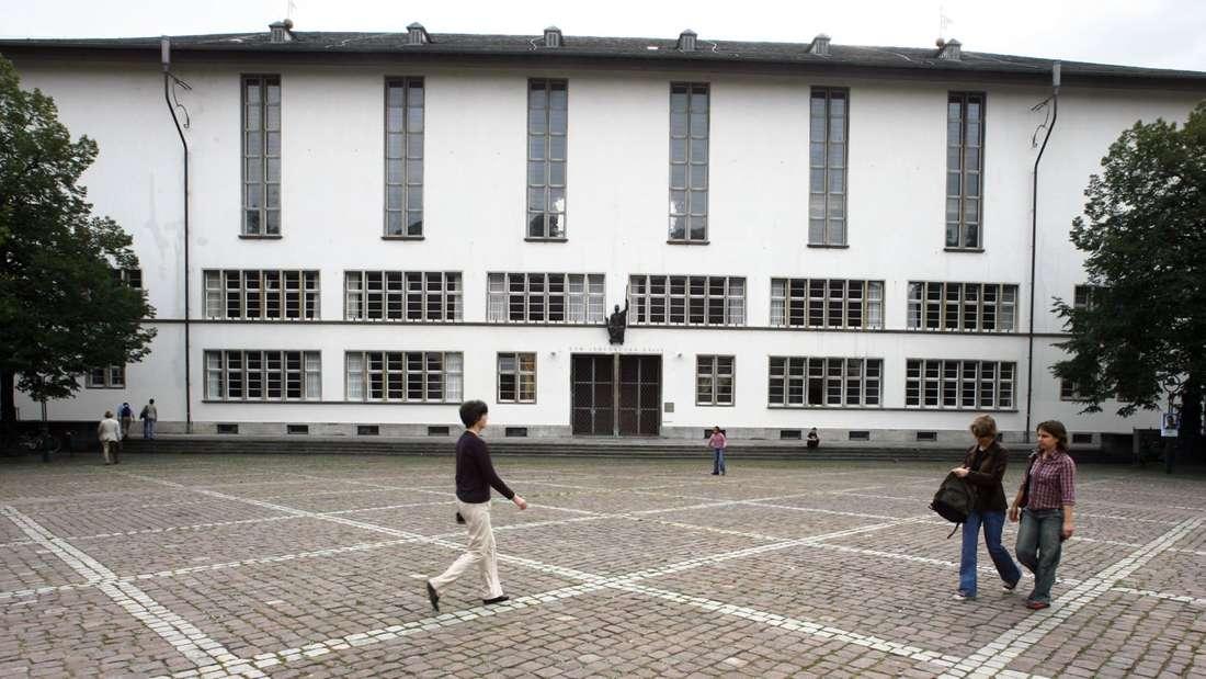 Das Gebäude der neuen Universität in Heidelberg.