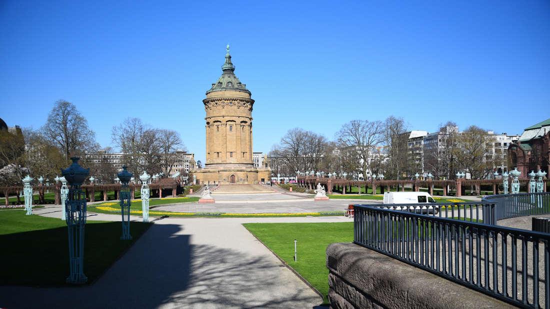 Kontaktverbot wegen Coronavirus: Öffentliche Plätze in Mannheim abgesperrt