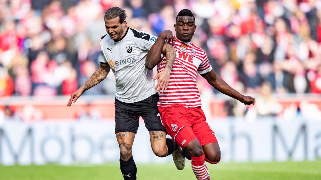 Dennis Diekmeier (li.) ist im Januar 2019 zum SV Sandhausen gewechselt.