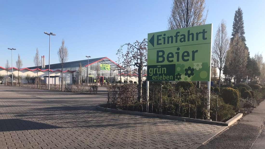 Ein unbekannter Täter droht mit einem Anschlag auf den Gartenmarkt Blumen Beier in Mannheim