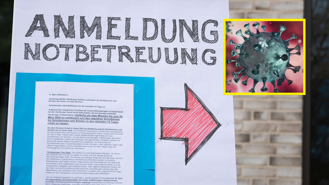 Kita-Erzieherin aus Mannheim positiv auf das Coronavirus getestet (Symbolbild).