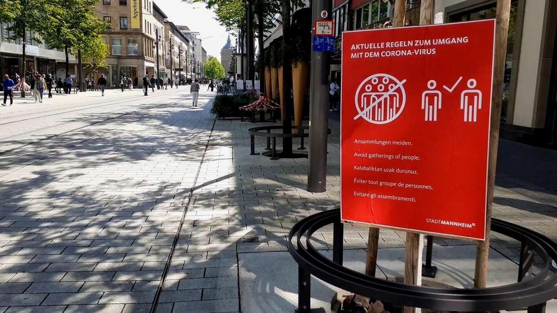 Wie lange wird das Kontaktverbot in Mannheim noch gelten?