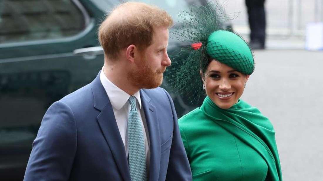 Sind Harry und Meghan in die USAumgezogen?. Foto: Yui Mok/PA Wire/dpa