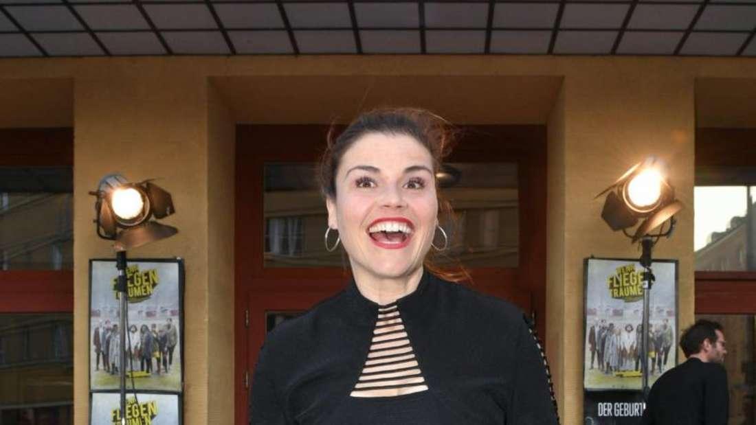 Katharina Wackernagel amüsiert sich bei Filmen mit Louis de Funès. Foto: Jens Kalaene/dpa-Zentralbild/dpa
