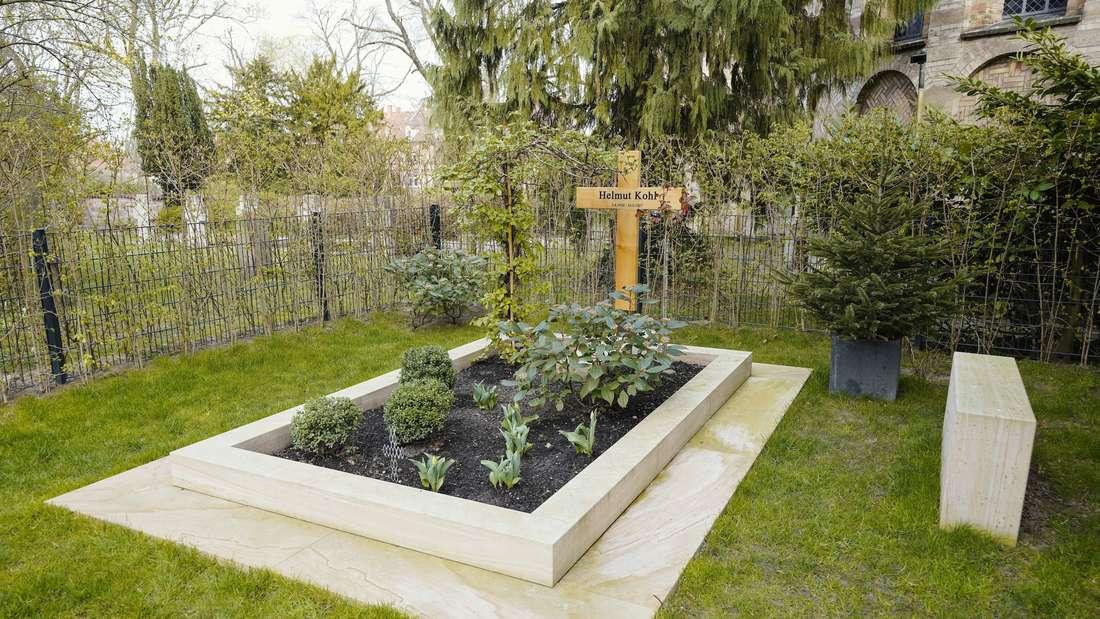Grab von Ex-Bundeskanzler Kohl