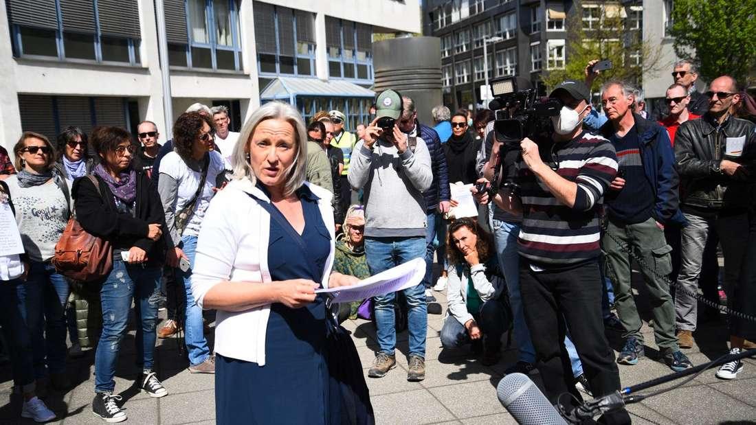 Heidelberg: Die Anwältin Beate Bahner äußert sich abfällig über ihre Anhänger.