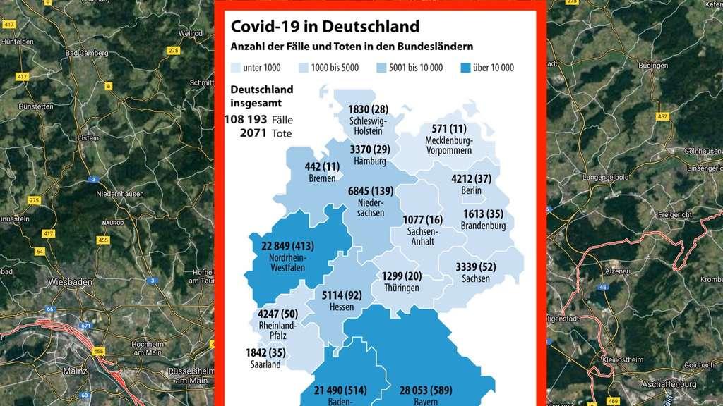 Coronavirus Hessen Zahlen