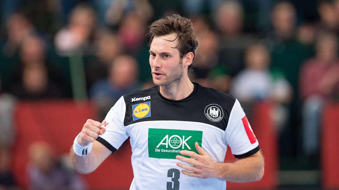 Uwe Gensheimer ist seit 2014 Kapitän der deutschen Handball-Nationalmannschaft.