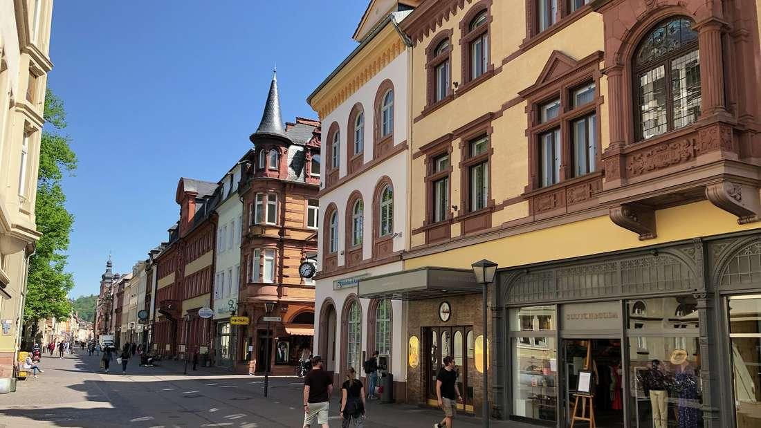 Coronavirus in Heidelberg: Die meisten Läden dürfen dank der Lockerungen wieder öffnen.