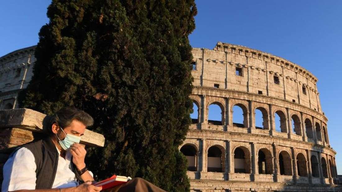 Italien hebt ab dem 4. Mai eine Reihe von Beschränkungen auf und erlaubt etwa wieder mehr Sport im Freien und mehr Bewegungsmöglichkeiten in der eigenen Region. Foto: Elisa Lingria/XinHua/dpa
