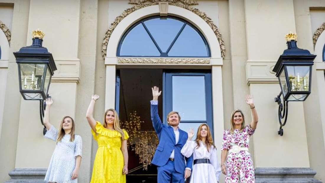 Die niederländische Königsfamilie zeigt sich bunt und fröhlich. Foto: Patrick van Katwijk/ANP ROYAL IMAGES POOL/dpa