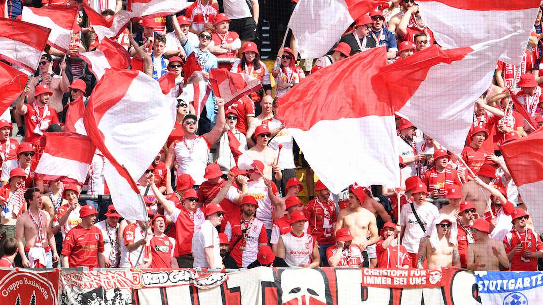 Die Fans des 1. FC Kaiserslautern.