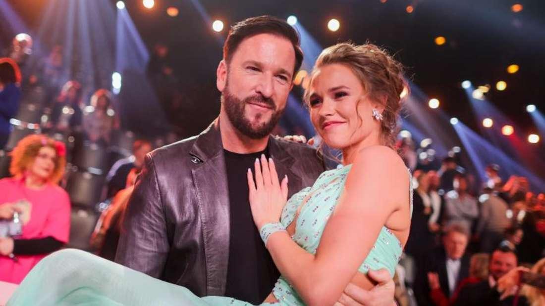 Werden Laura Müller und Michael Wendler es schaffen, in Las Vegas zu heiraten?. Foto: Rolf Vennenbernd/dpa
