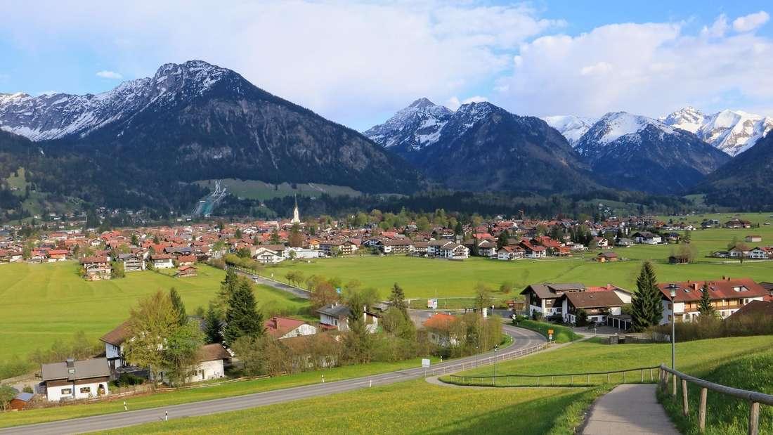 Urlaub in den Bergen Deutschlands.