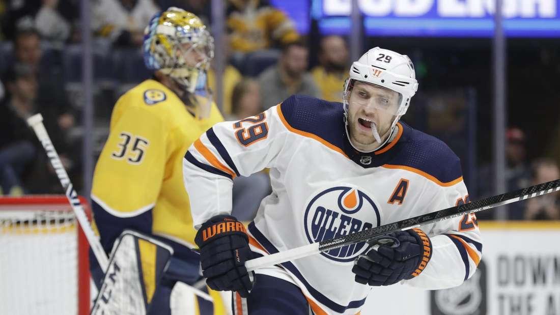 Leon Draisaitl spielt erfolgreich für die Edmonton Oilers.