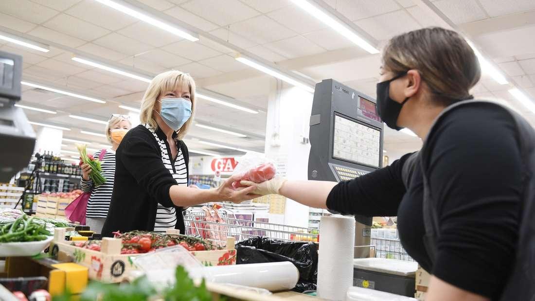 Coronavirus - Maskenpflicht in Rosenheim