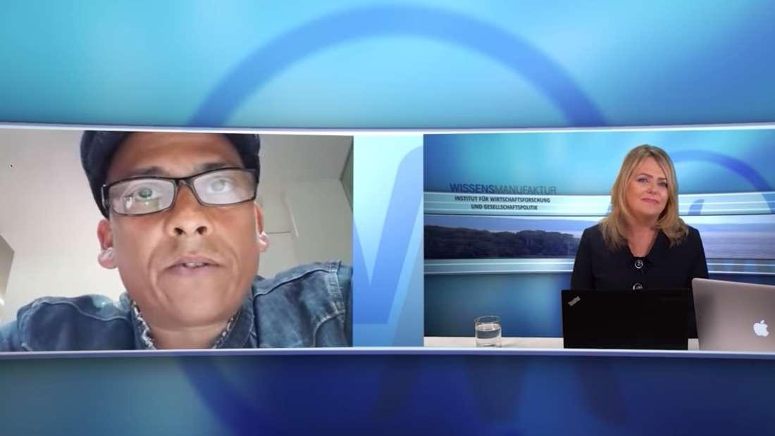 Xavier Naidoo redet mit Eva Herman über das Coronavirus und Verschwörungstheorien.
