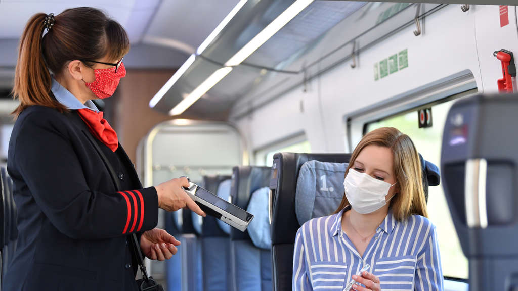 Maskenpflicht Im Fernverkehr Db