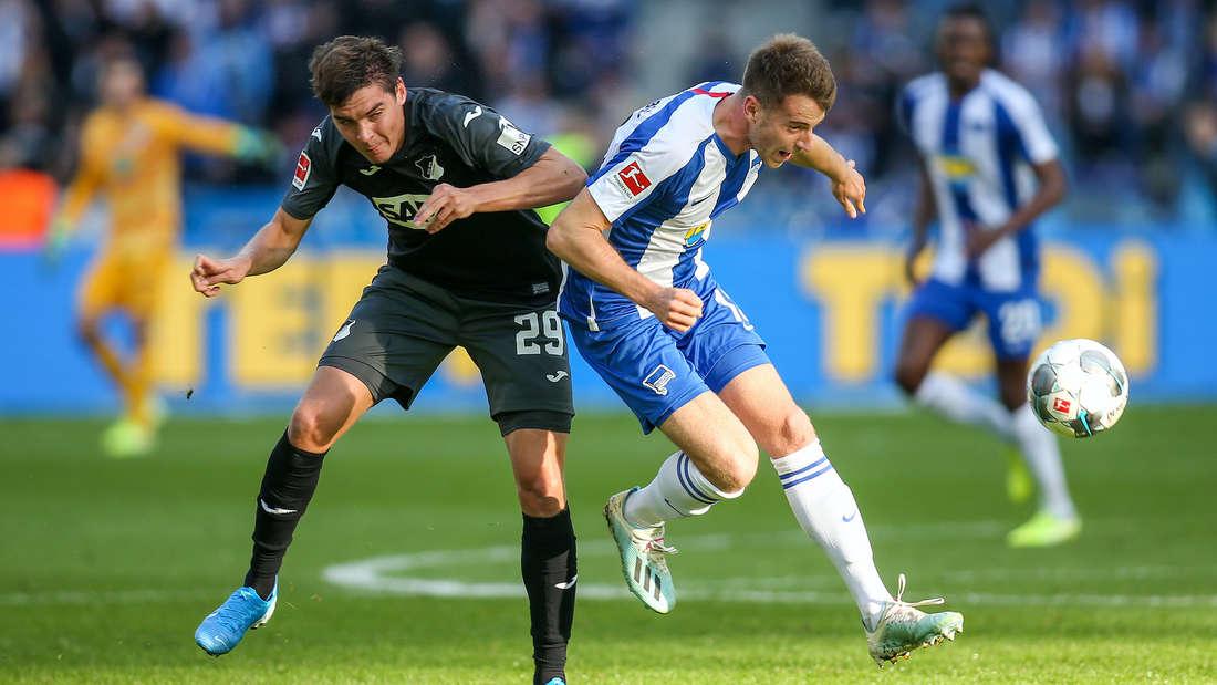 Das Hinspiel gegen Hertha BSC hat die TSG Hoffenheim mit 3:2 gewonnen.