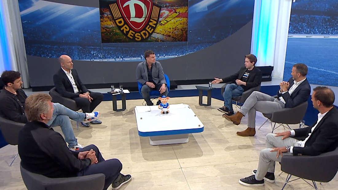 Doppelpass: SPD-Politiker Kevin Kühnert diskutiert im Fußball-Talk.