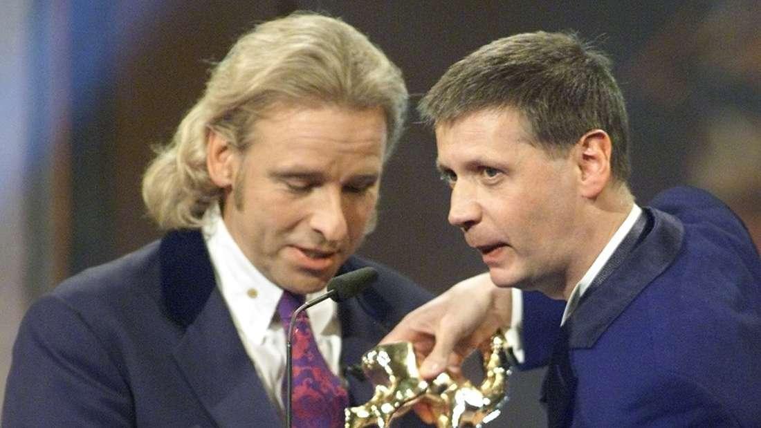 Thomas Gottschalk und Günther Jauch bei der Bambi-Verleihung