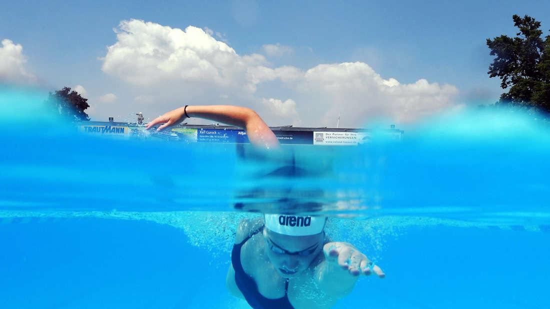 Das Freibad Sonnenbad in Karlsruhe öffnet für Spitzensportler
