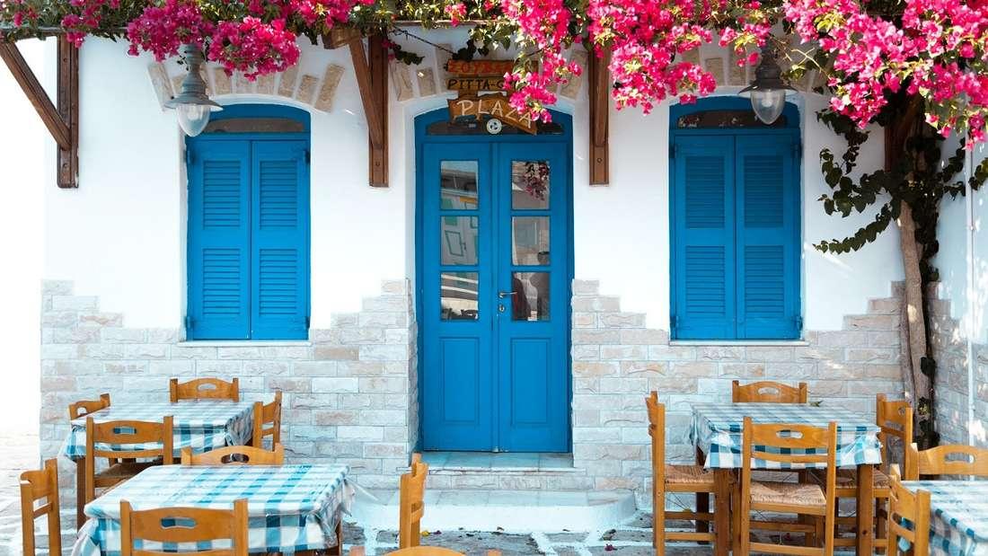 Griechische Taverne.