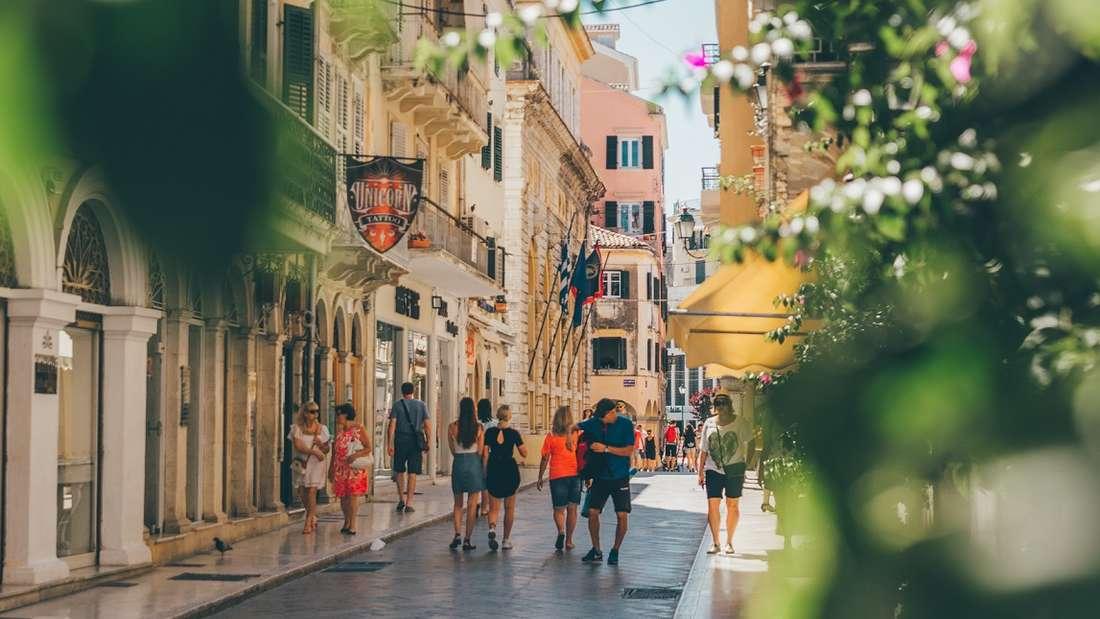 Altstadt von Korfu.