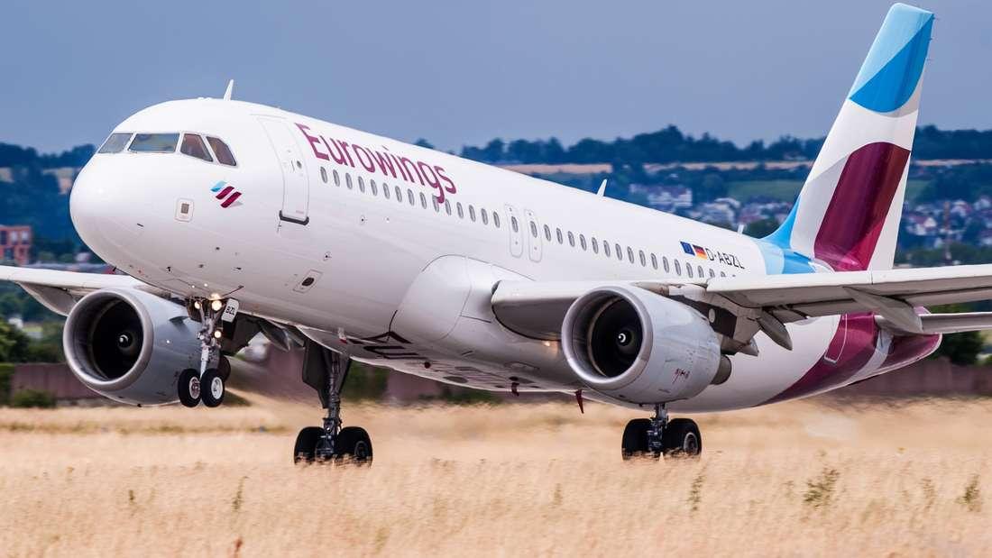 Eine Eurowings-Maschine musste auf dem Weg nach Sardinien kurz vor dem Ziel wieder umdrehen.