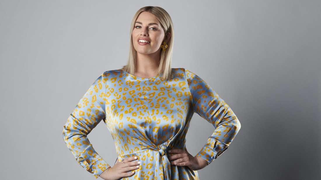 """Curvy-Model Angelina Kirsch moderiert die achte Staffel der erfolgreichen Koch-Show """"The Taste"""" auf Sat.1."""