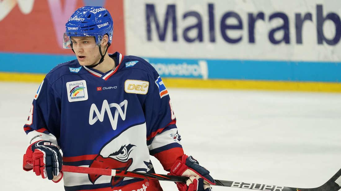 Tim Stützle will beim Draft in die Top 3 kommen.