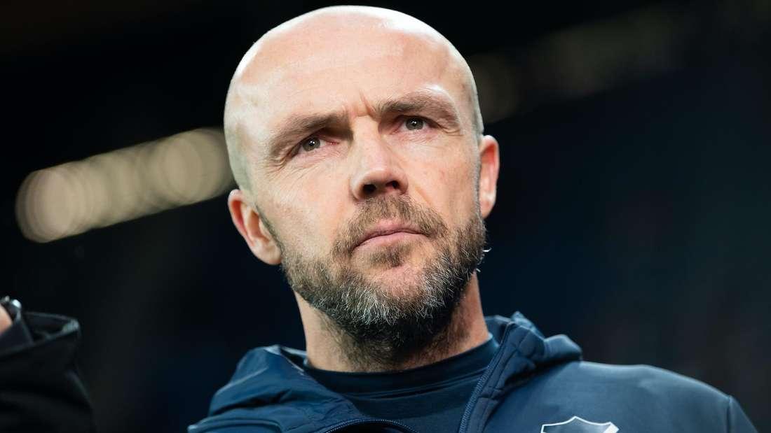 Hoffenheim trennt sich von Trainer Alfred Schreuder.