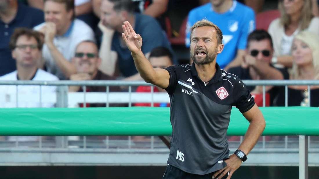 Michael Schiele soll ein Trainerkandidat bei der TSG Hoffenheim sein.