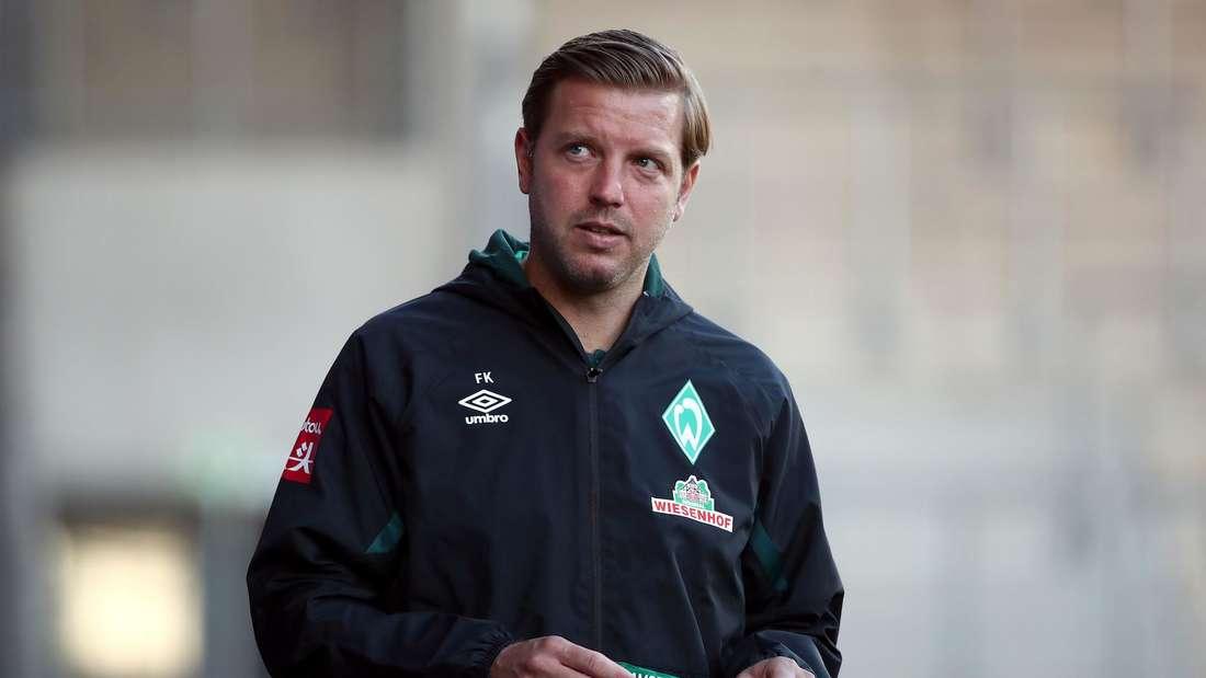 Werder-Trainer Florian Kohfeldt (hier beim Relegationsrückspiel in Heidenheim) wird bei der TSG Hoffenheim gehandelt.
