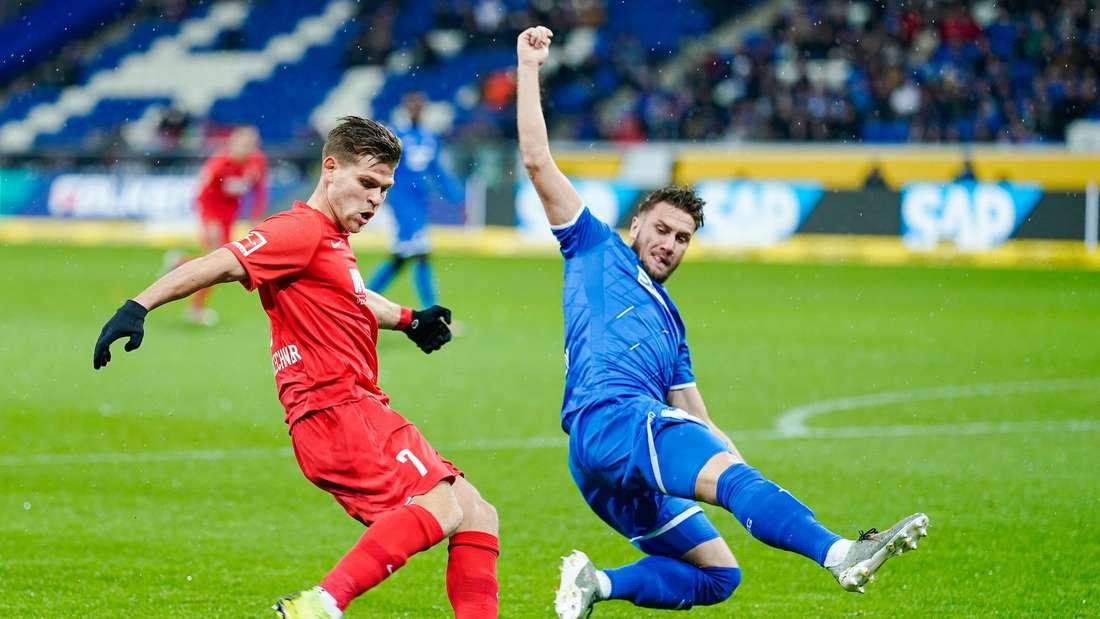 Das Hinspiel in Sinsheim hat der FC Augsburg 4:2 gewonnen.