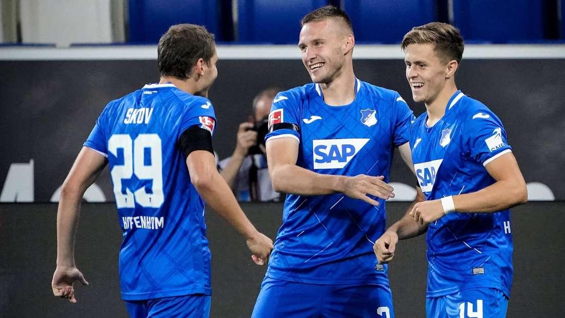 Die TSG Hoffenheim ist am Mittwoch zu Gast in Augsburg.