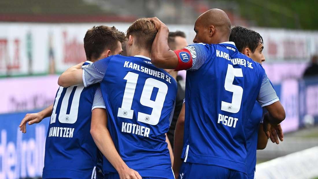 Der Karlsruher SC muss am letzten Spieltag zu Greuther Fürth.